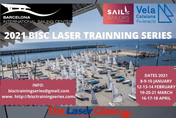 The Laser Class - Winter Laser sailing trainig series in Barcelona, Spain