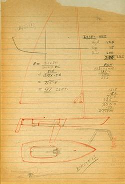 Original Laser Sketch